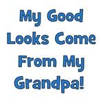 Good Looks From Grandpa - Blue