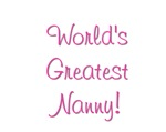 World's Greatest Nanny!