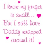 Daddy Wrapped Around Finger - Pink
