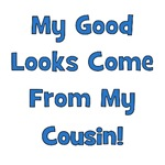 Good Looks From Cousin! - Blue