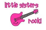 Little Sisters Rock! pink guitar