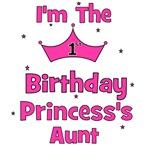 1st Birthday Princess's Aunt!