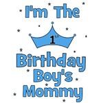 1st Birthday Boy's Mommy!