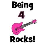 Being 4 Rocks! pink