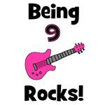Being 9 Rocks! pink
