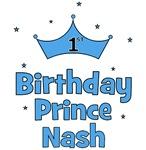 1st Birthday Prince Nash!