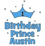 1st Birthday Prince AUSTIN!