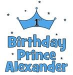1st Birthday Prince ALEXANDER!