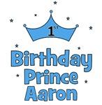 1st Birthday Prince AARON!