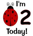 Ladybug I'm 2 Today!