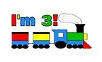 I'm 3! Train