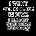 Iowa wrestling? Lousy ears