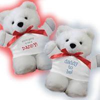 teddy bear announcements