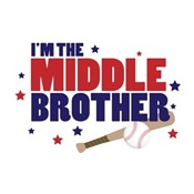 i'm the middle brother baseball