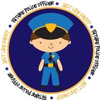 Occupation Police Boy Like Daddy