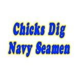 Chicks Dig Navy Seamen