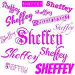 Neon Pink Sheffey Fonts - 9571