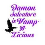 Damon is Vampalicious
