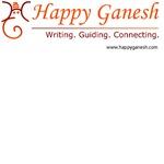 Happy Ganesh banner logo