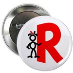 Red on a Button