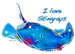 I LOVE STINGRAYS