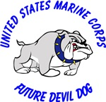 USMC Future Devil Dog Design - Blue