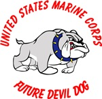 USMC Future Devil Dog Design - Red