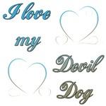 I Love My Devil Dog ver2
