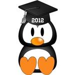 Customized Graduation Penguin