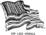 Barcode Flag - God Less America