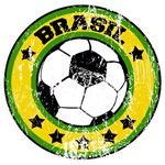 Brasil Soccer (distressed)