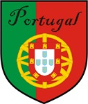 Portugal Flag Crest Shield
