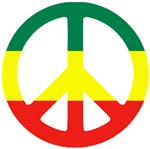 'PEACE' Reggae T-Shirts and Gifts