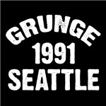 SEATTLE 1991 GRUNGE T-Shirts