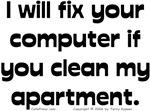 Clean Apartment/Fix Computer