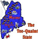 ME - The Too-Quaint State! (a)
