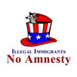 No Amnesty Hat Mouse