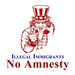 No Amnesty Red Uncle