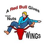 Western Rodeo Red Bull
