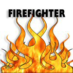 Firefighting Flames | Firefighter Gifts