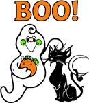 Halloween Ghost Friends