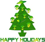 Alien Christmas Tree