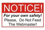 Notice / Webmaster