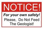 Notice / Geologist