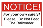 Notice / Railroader