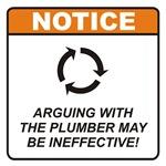 Plumber / Argue