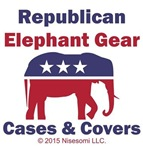 Republican Elephant Gear Cases & Covers