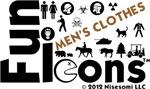 Fun Icons Men's Clothing