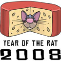 Funny Year of The Rat 2008 T-Shirts