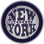 NEW YORK BASEBALL 2009